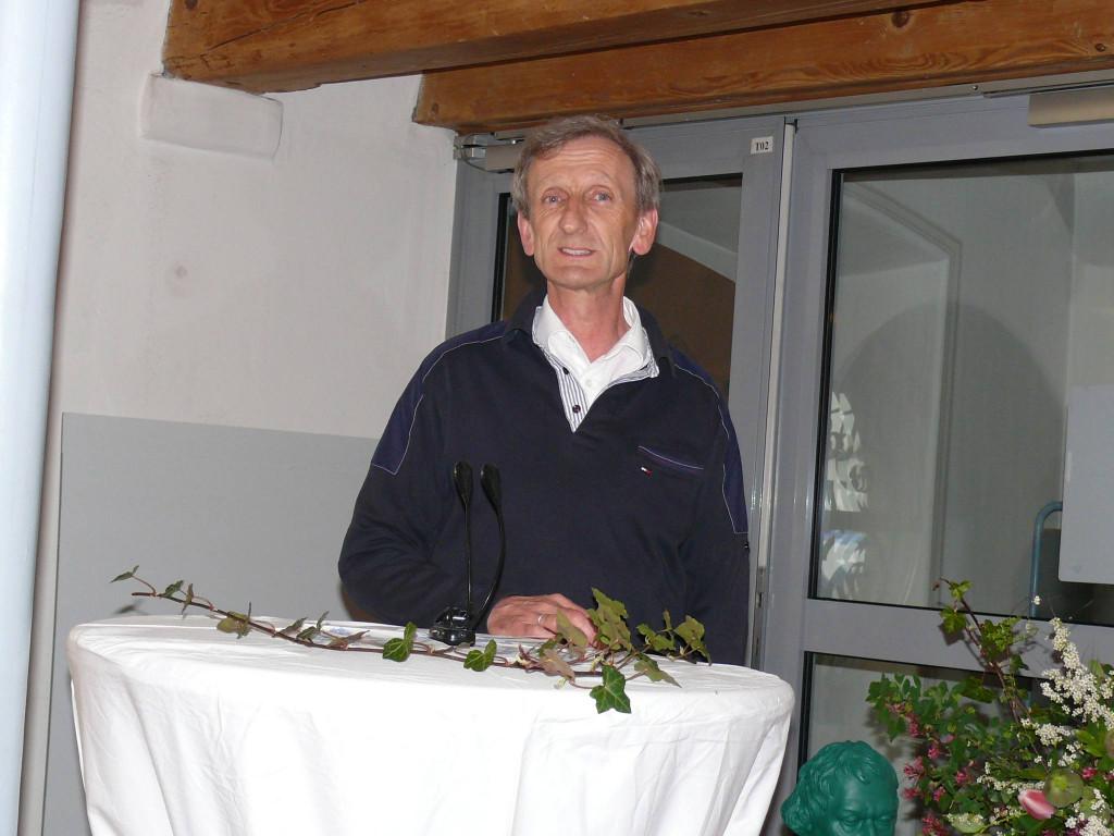 Pfarrer Ulrich Gampert